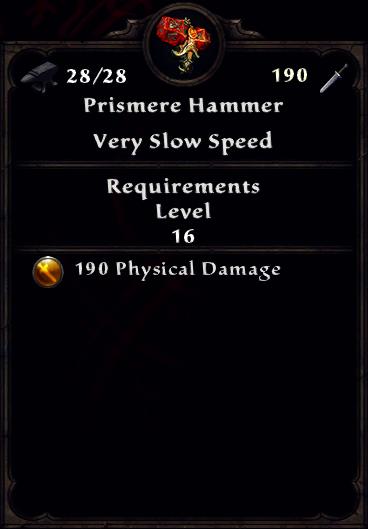 Prismere Hammer