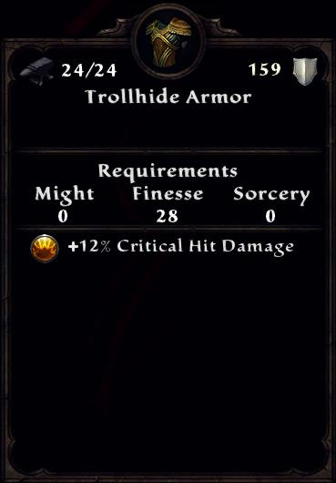 Trollhide Armor