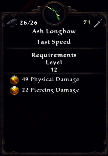 Ash Longbow