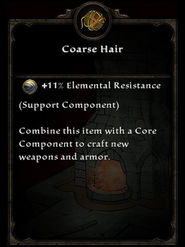 Coarse Hair