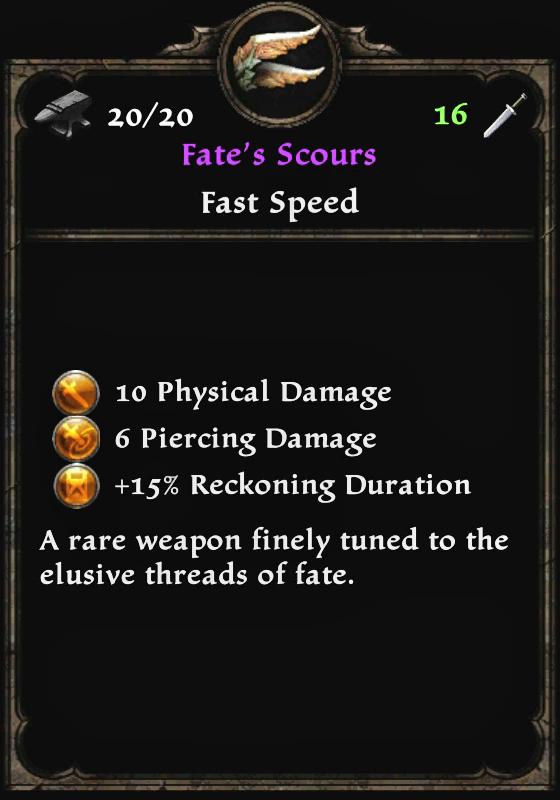 Fate's Scours