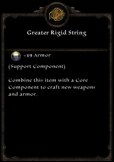 Greater Rigid String