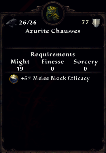 Azurite Chausses Inventory.png