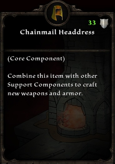 Chainmail Headdress