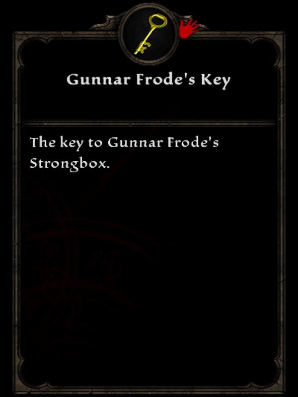 Gunnar Frode's Key