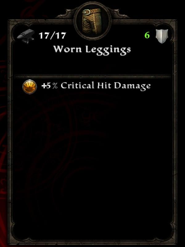 Worn Leggings