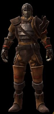 Brewmaster's Armor Set, Male