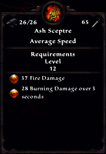 Ash Sceptre