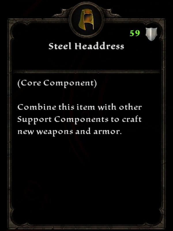 Steel Headdress
