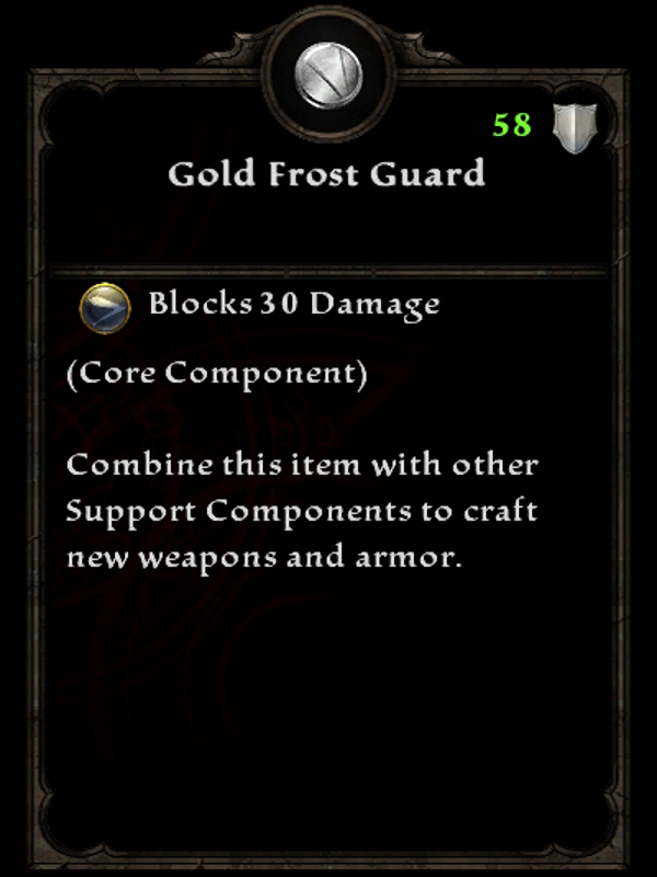 Gold Frost Guard