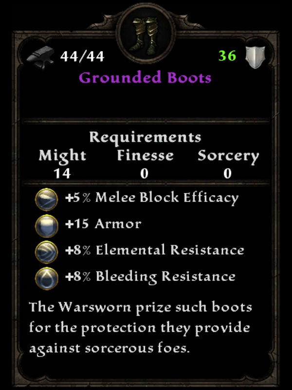 Grounded Boots