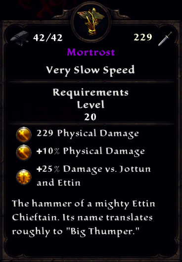 Mortrost