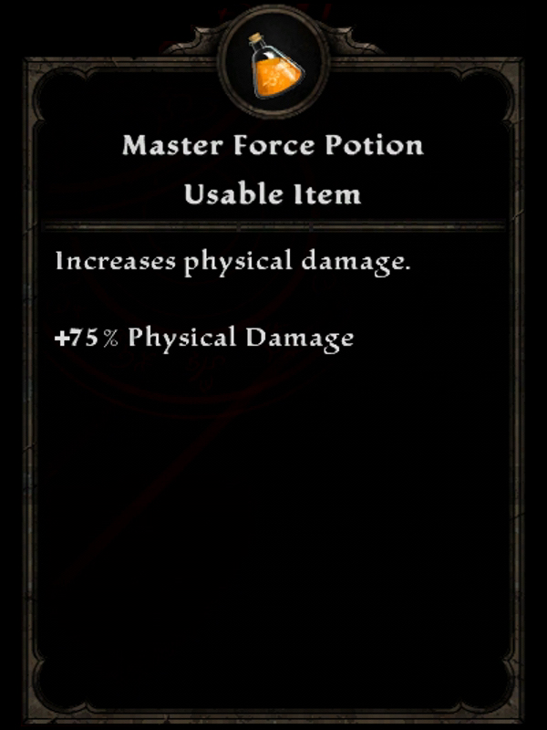 Master Force Potion