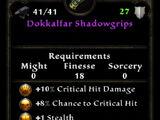Dokkalfar Shadowgrips