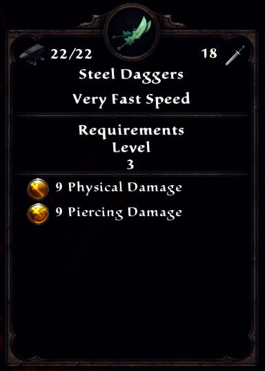 Steel Daggers