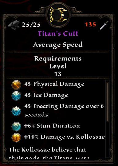 Titan's Cuff