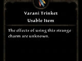 Varani Trinket