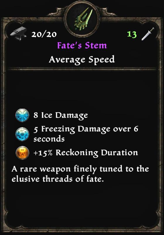 Fate's Stem