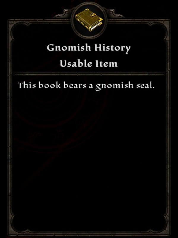 Gnomish History