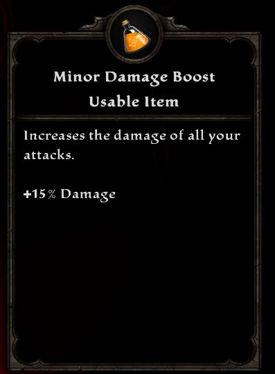 Minor Damage Boost
