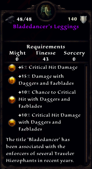 Bladedancer's Leggings