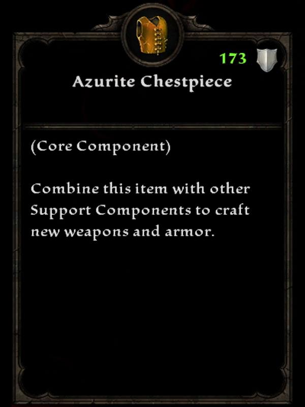 Azurite Chestpiece