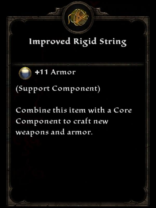 Improved Rigid String
