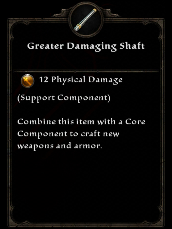 Greater Damaging Shaft