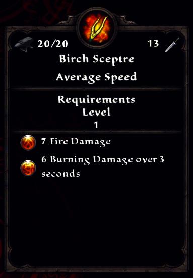 Birch Sceptre