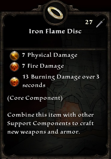 Iron Flame Disc