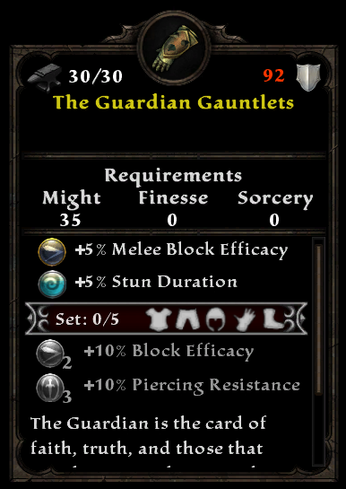 The Guardian Gauntlets