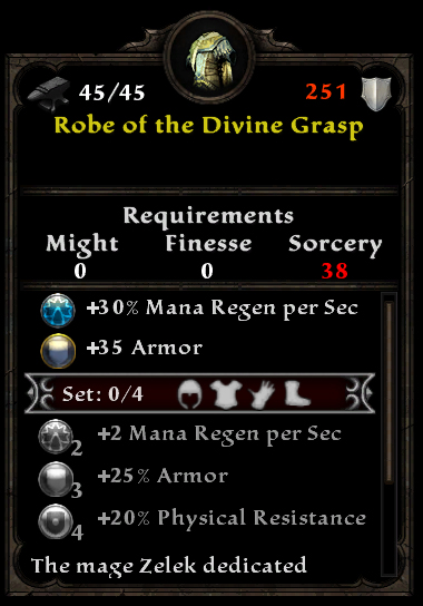 Robe of the Divine Grasp