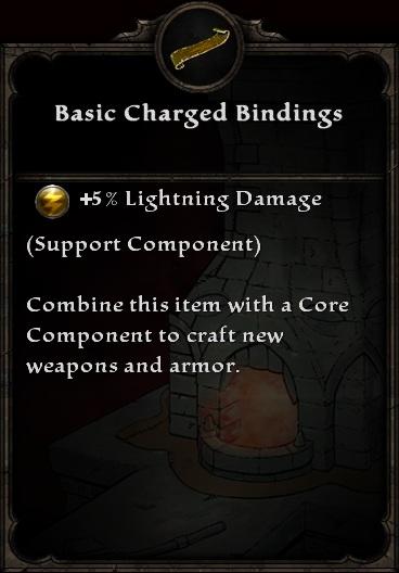 Basic Charged Bindings
