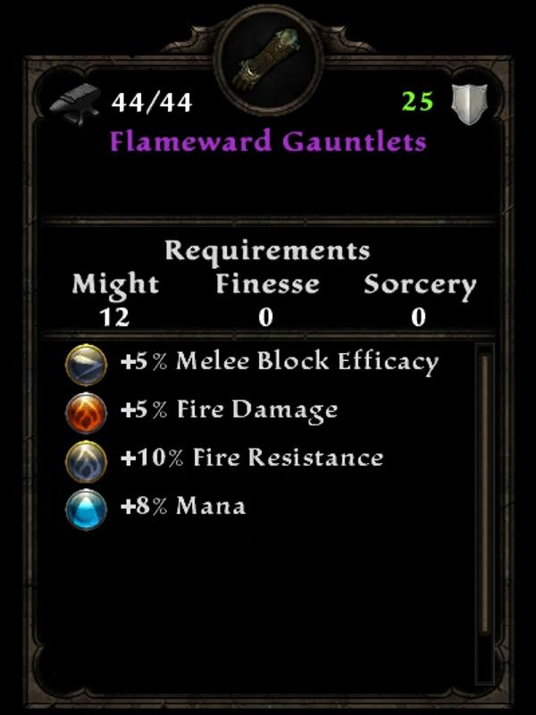 Flameward Gauntlets