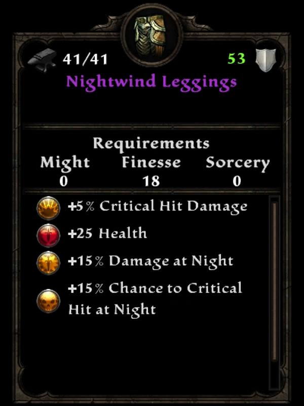 Nightwind Leggings