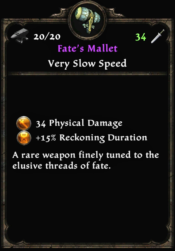 Fate's Mallet
