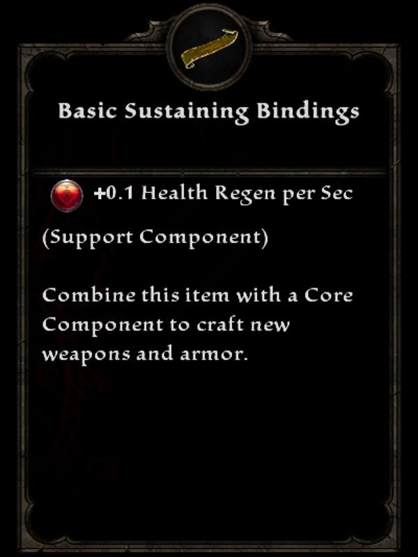 Basic Sustaining Bindings
