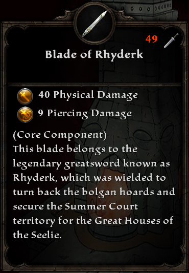 The Flame of Rhyderk