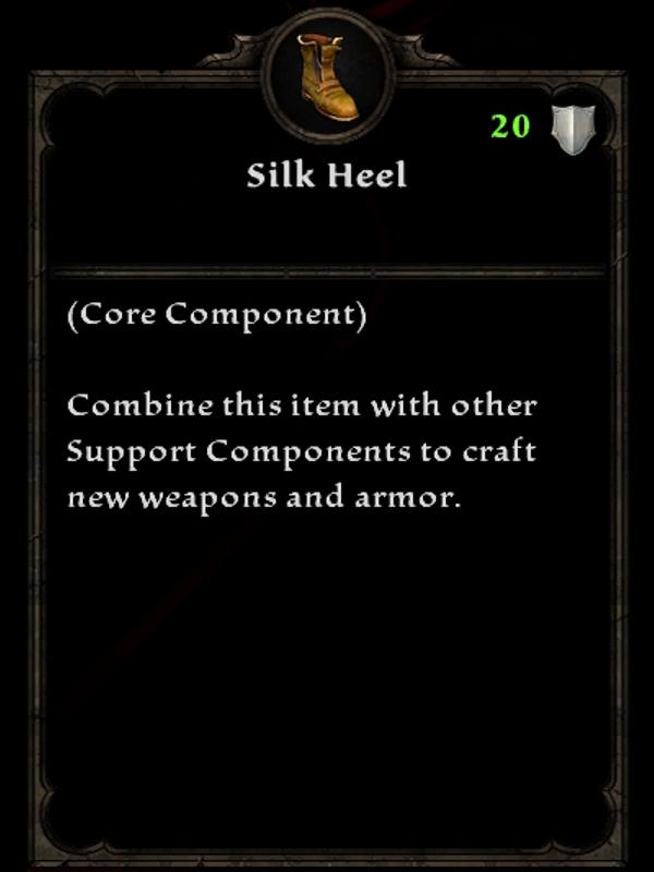 Silk Heel