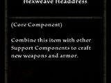 Hexweave Headdress