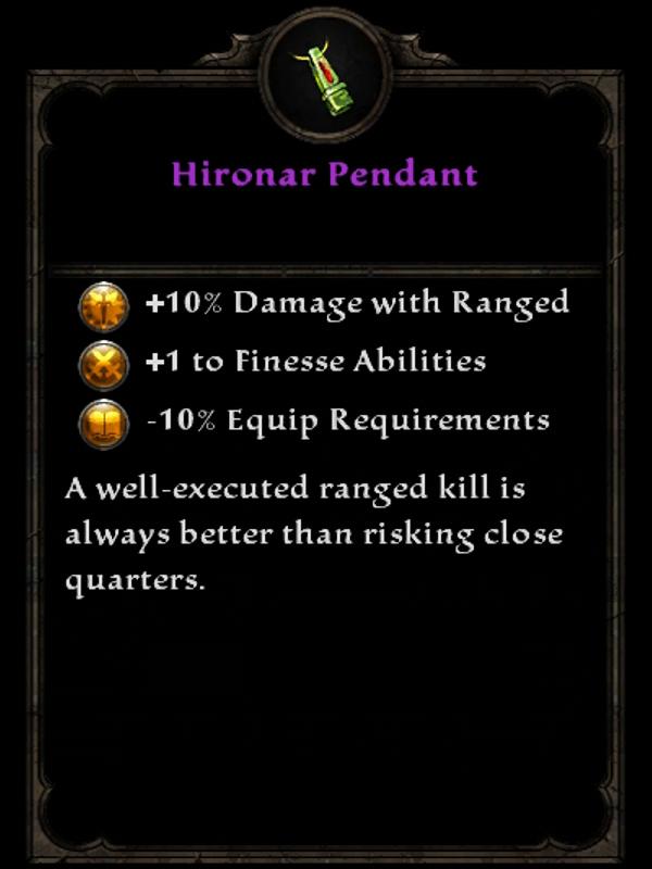Hironar Pendant