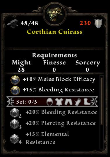 Corthian Cuirass