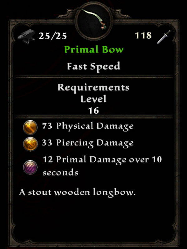 Primal Bow