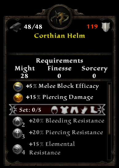 Corthian Helm