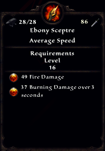 Ebony Sceptre