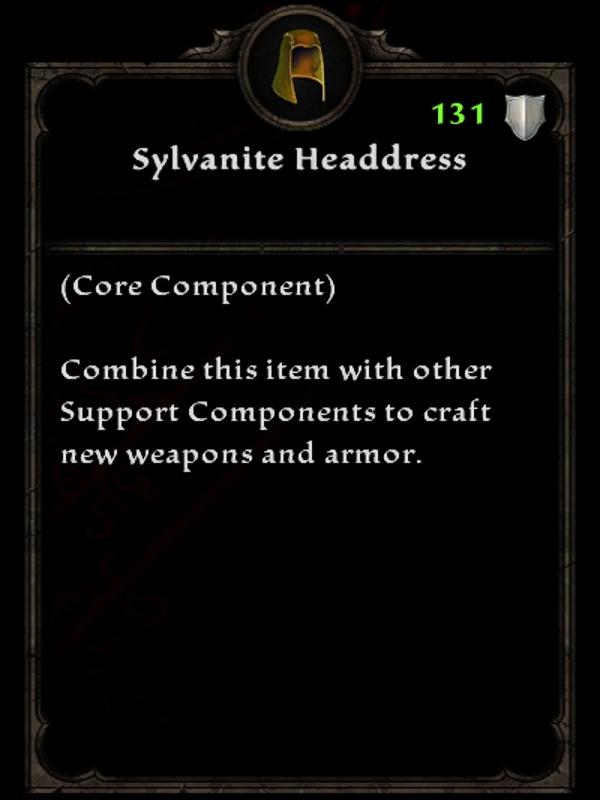 Sylvanite Headdress
