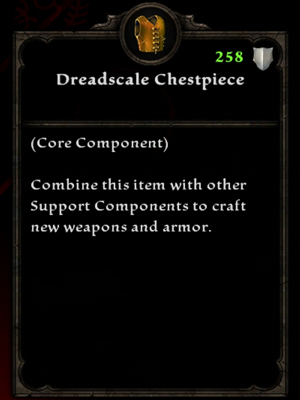 Dreadscale Chestpiece