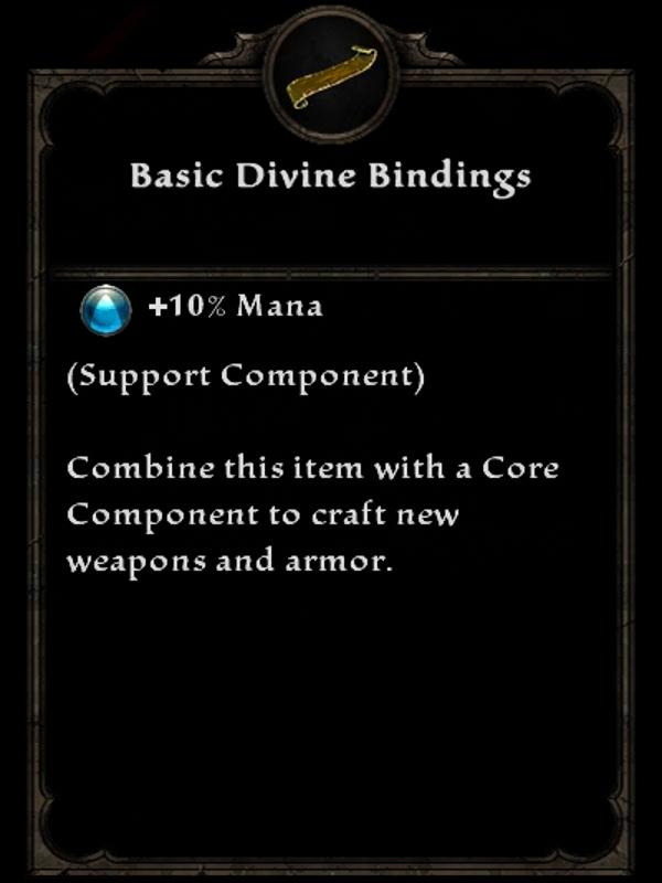 Basic Divine Bindings