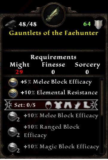 Gauntlets of the Faehunter