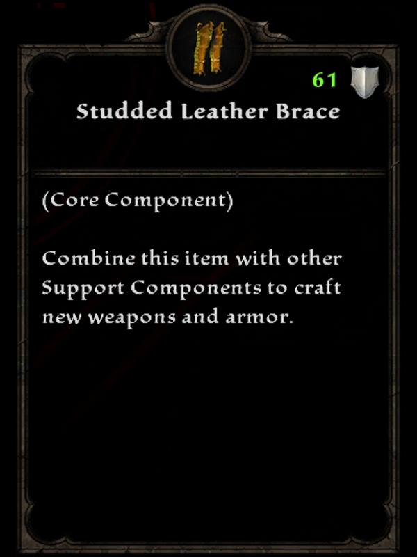 Studded Leather Brace